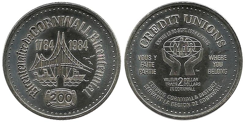 Cornwall - 1784-1984