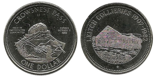 Crowsnest Pass - Trade Dollar
