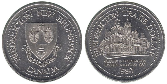 Fredericton - Trade Dollar