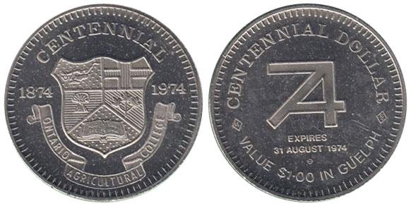 Guelph - Centennial - 1874-1974