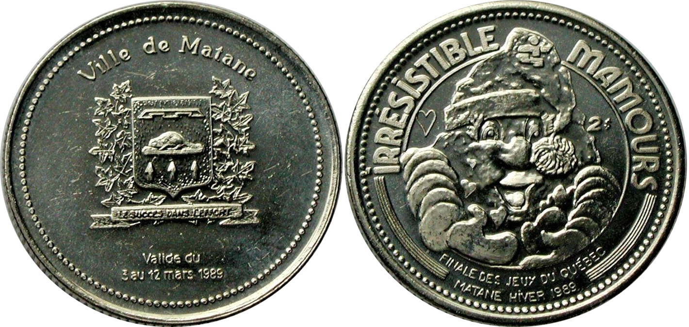 Matane - Hiver 1989 - Jeux du Quebec