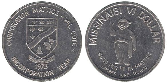 Mattice - Missinaibi VI Dollar
