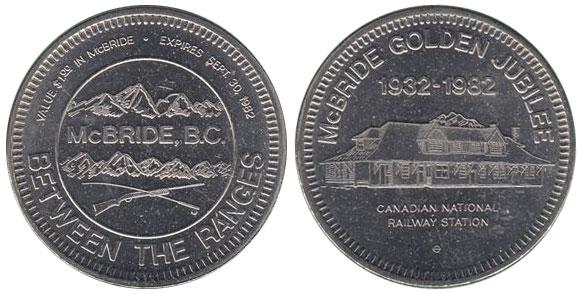McBride - Golden Jubilee - 1932-1982
