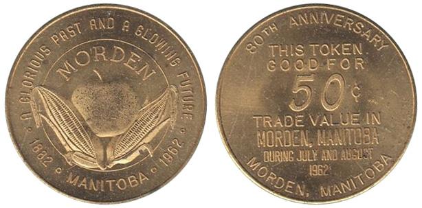 Morden - 80th anniversary - 1882-1962