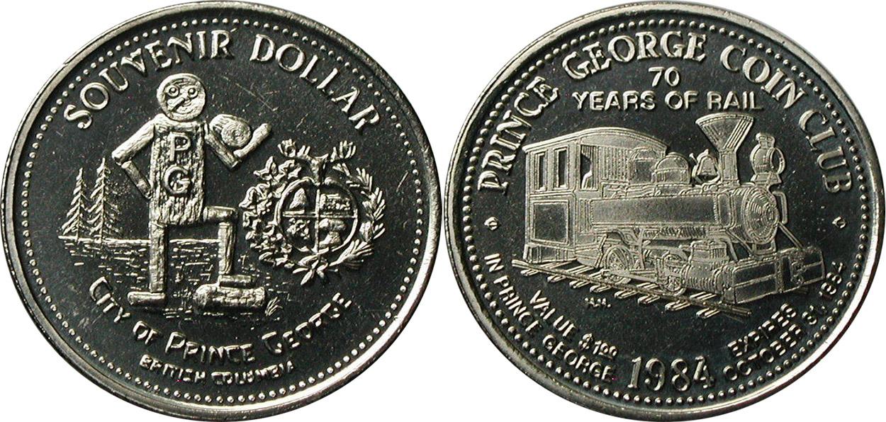Prince George - Souvenir Dollar