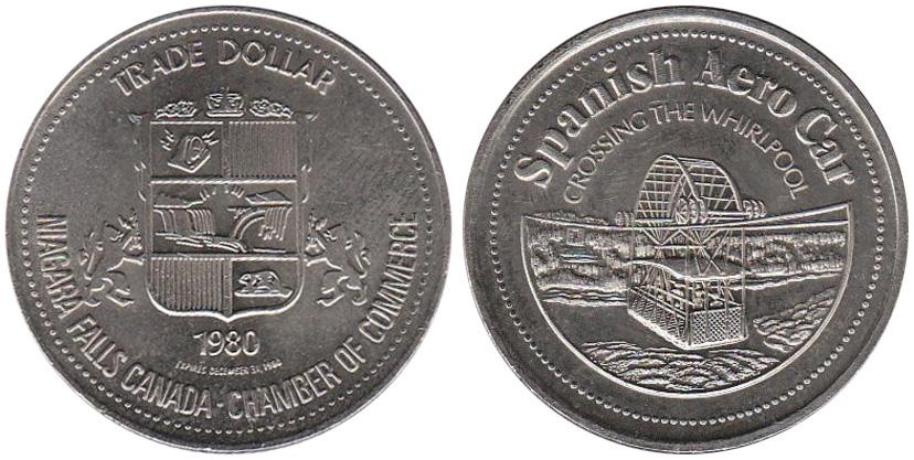 Niagara Falls - Trade Dollar