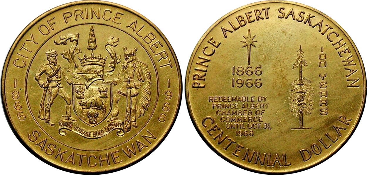 Prince Albert - Centennial Dollar