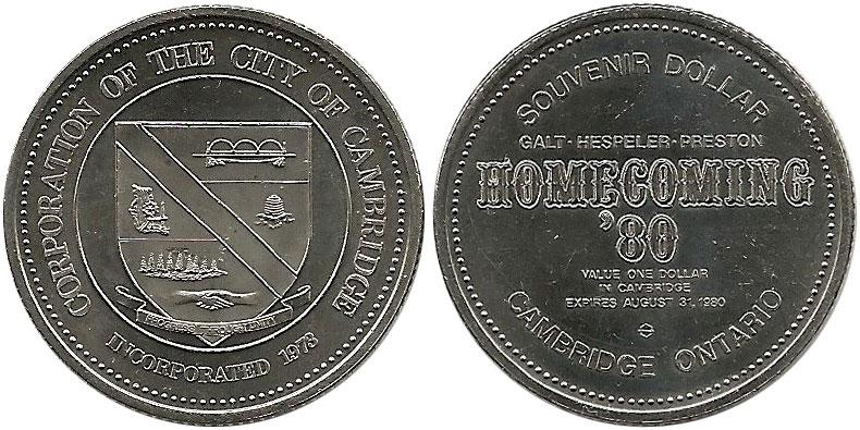 Cambridge - Souvenir Dollar