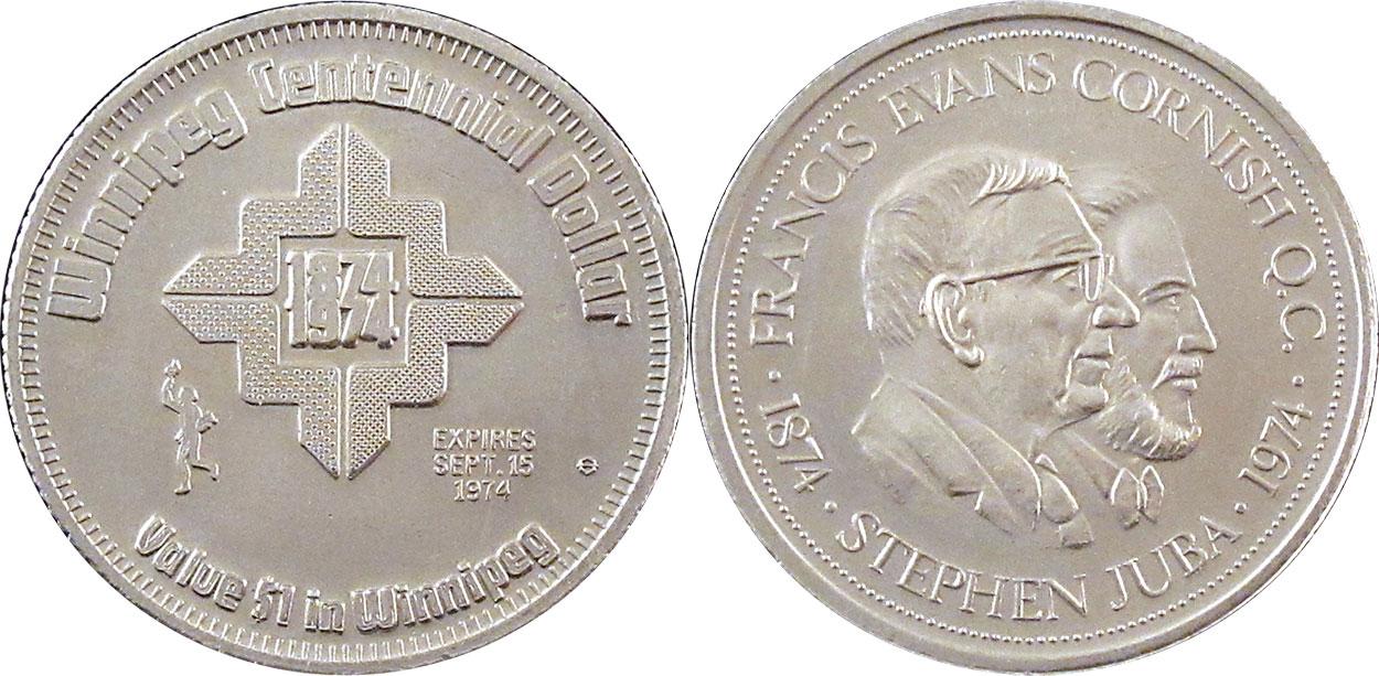 Winnipeg - Centennial Dollar