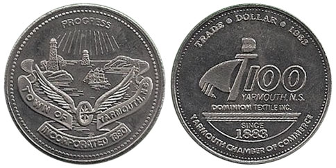 Yarmouth - Trade Dollar