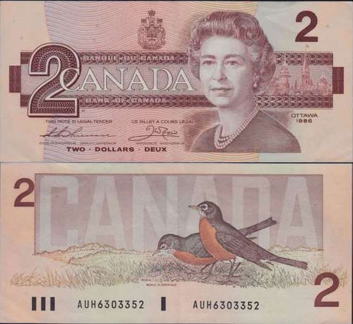 Reconnaître les signatures des billets de banque du canada »