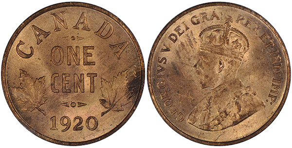 1 cent 1920 - Small