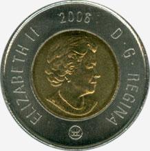 2 dollars 2006 - RCM Logo