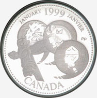 25 cents 1999 - January