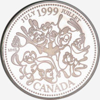 25 cents 1999 - July