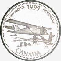 25 cents 1999 - November