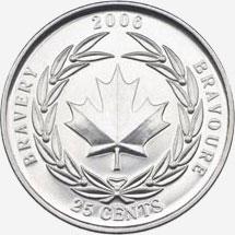 25 cents 2006 - Bravery