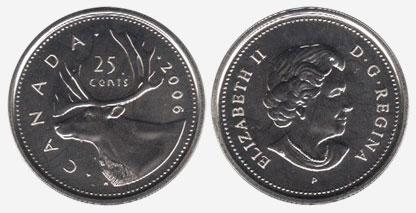 25 cents 2006 - P