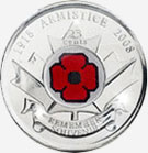 25 cents 2008 - Poppy