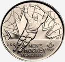 25 cents 2009 - Hockey masculin