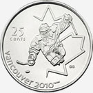 25 cents 2009 - Sledge Hockey