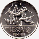 25 cents 2009 - Women's Hockey