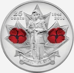 25 cents 2010 - Poppy