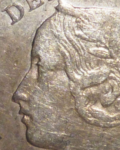 5 cents 1891 - Obverse # 2