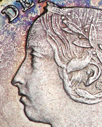 5 cents 1891 - Obverse # 5
