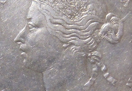 50 cents 1888 - Obverse # 2