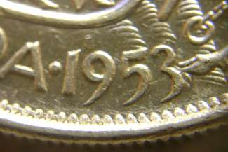 50 cents 1953 - Grosse date