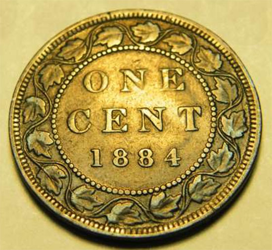 Numicanada 1 Cent 1884 Valeur Des Pi 232 Ces De Monnaie Canadiennes