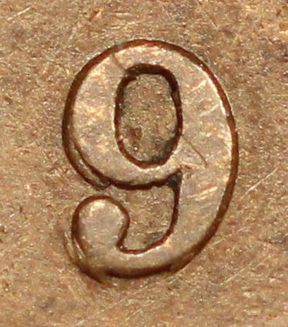 1 cent 1893 - Triple 9
