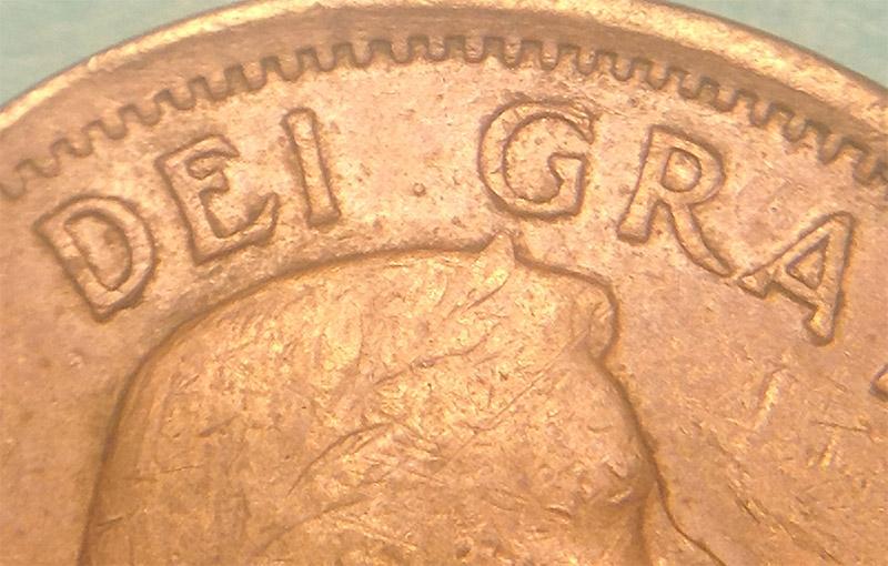 1962 CANADA 1¢ BRILLIANT UNCIRCULATED PENNY