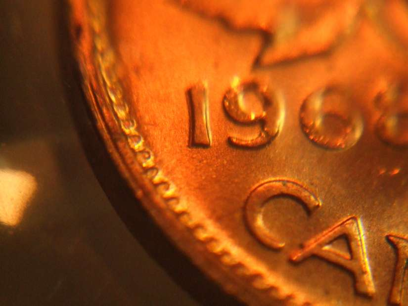 Coins and Canada - 1 cent 1968 - Canadian coins price guide
