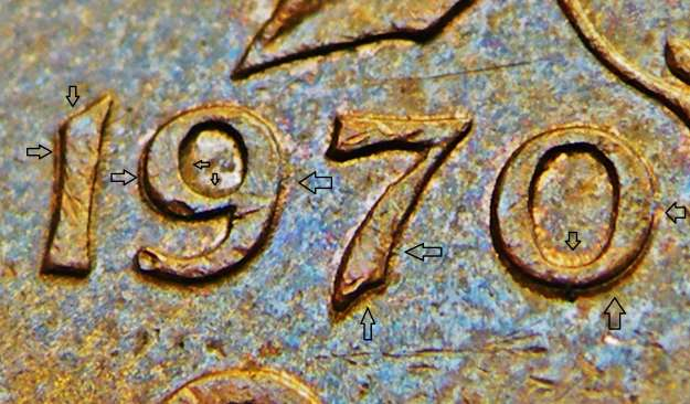 Coins and Canada - 1 cent 1970 - Canadian coins price guide and values