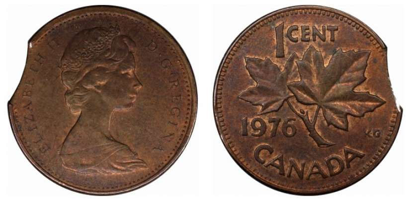 Coins And Canada 1 Cent 1976 Canadian Coins Price Guide And Values