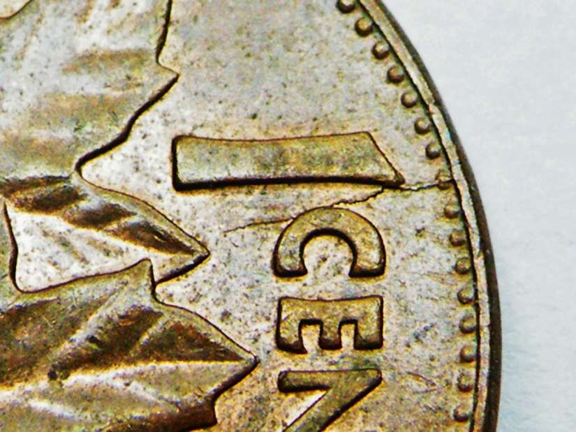 Coins and Canada - 1 cent 1977 - Canadian coins price guide and values