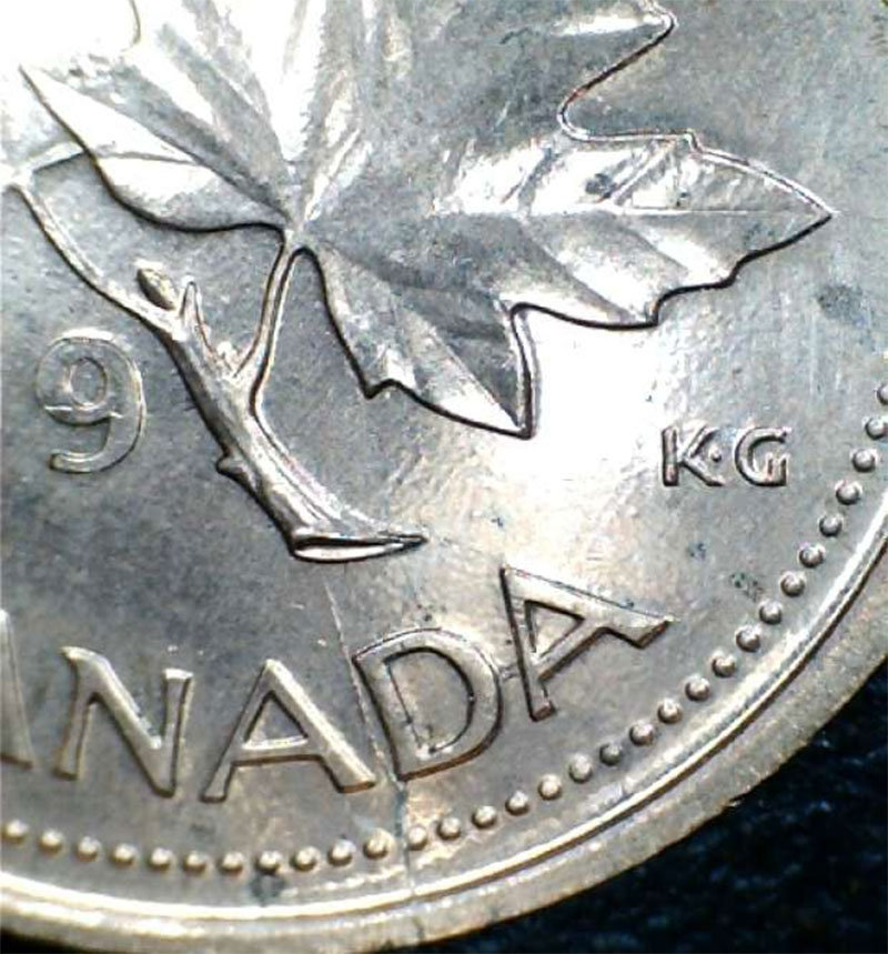 Coins and Canada - 1 cent 1999 - Canadian coins price guide
