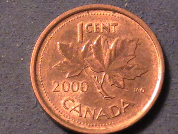 Coins And Canada 1 Cent 2000 Canadian Coins Price Guide And Values