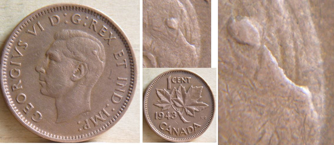 Coins And Canada 1 Cent 1943 Canadian Coins Price Guide And Values