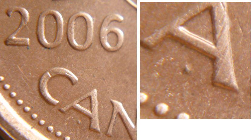 Original Roll of 50 Pcs 2009 Logo Mag Canada 1 Cent