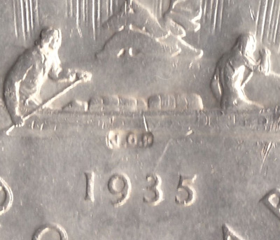 1935 Canadian Silver Dollar Swl Best Photos About Dollar