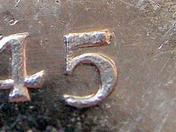 1 dollar 1945 - 5/5