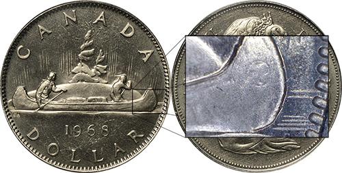 1 dollar 1968 - No Island