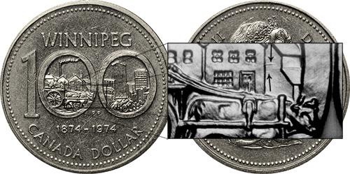 1 dollar 1974 - DDR #13 Spikes (VCR-13)