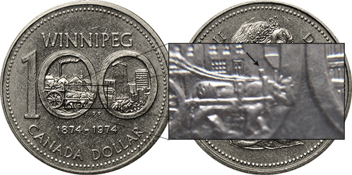 1 dollar 1974 - DDR #2 Northwest Yoke (VCR-2)