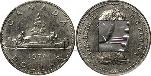 1 dollar 1978 - Broken Water Line