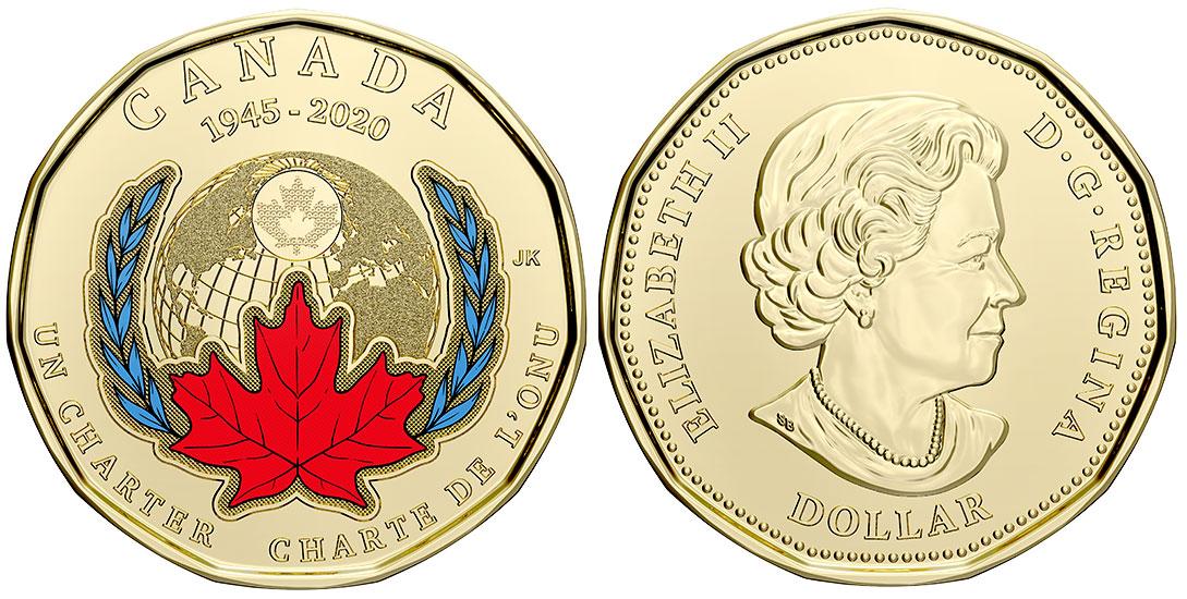 1 dollar 2020 - ONU