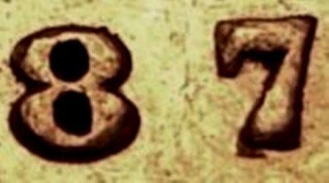 10 cents 1887 - Double 7